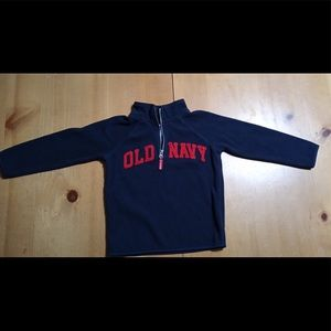 Old Navy Mock-Neck 1/4 Zip Pullover Fleece size 4T